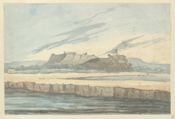 f.15b   A fort by the river, perhaps Chunargarh.